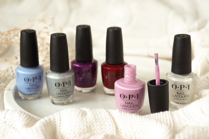 OPI Disney's The Nutcracker and The Four Realms Collection swatches