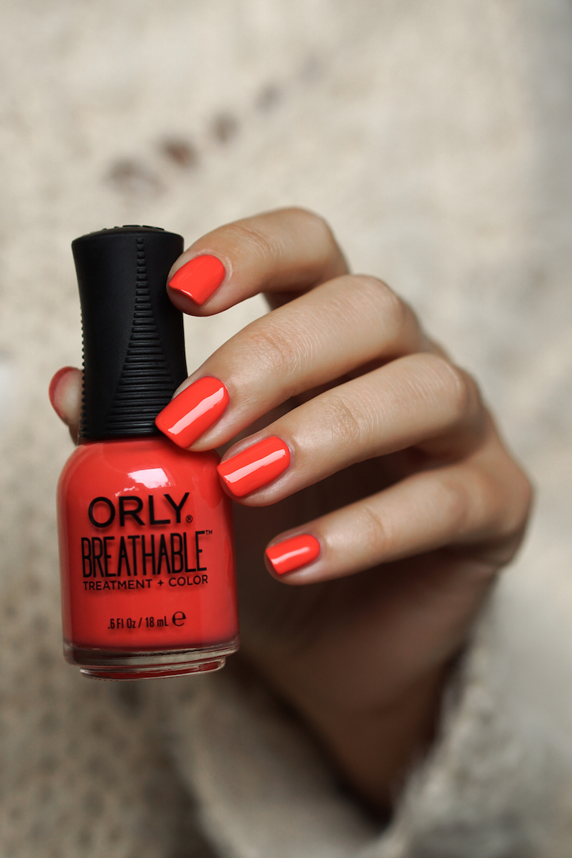 ORLY Breathable Treatment + Color swatches