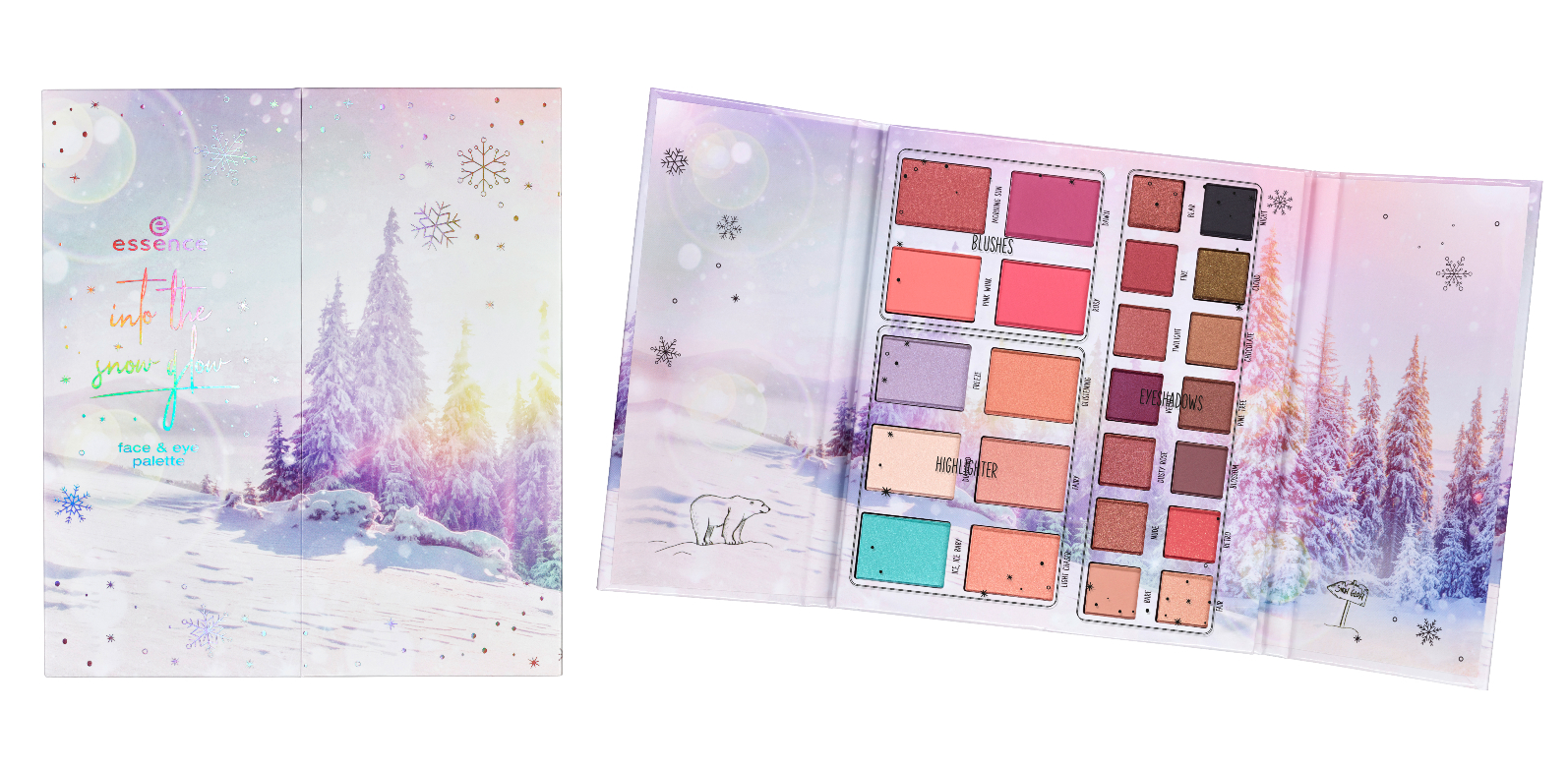"essence trend edition ""into the snow glow"""