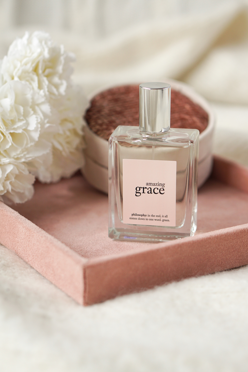 Philosophy Amazing Grace clean smelling perfume like soap clean shower fresh perfume what perfume smells like soap