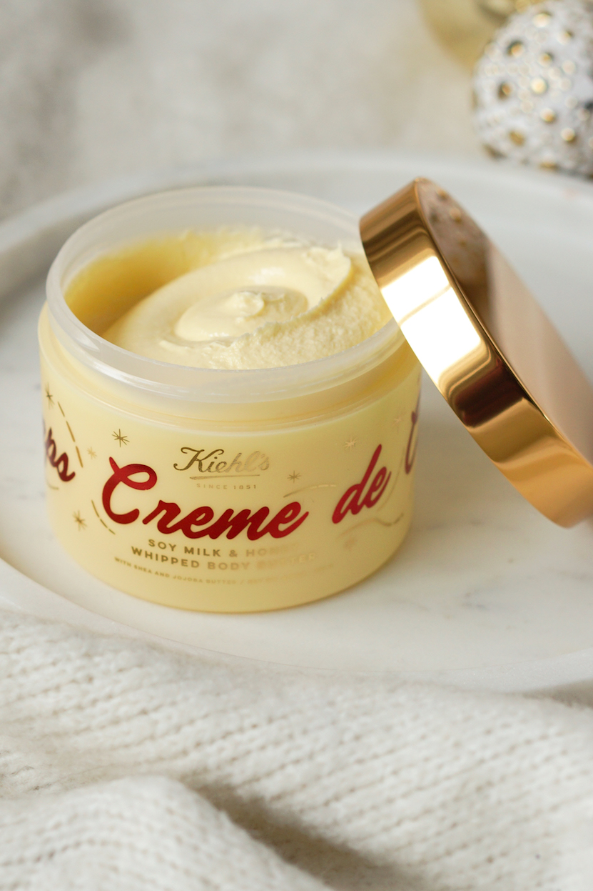 Kiehls Limited Edition Creme de Corps Soy Milk & Honey Whipped Body Butter