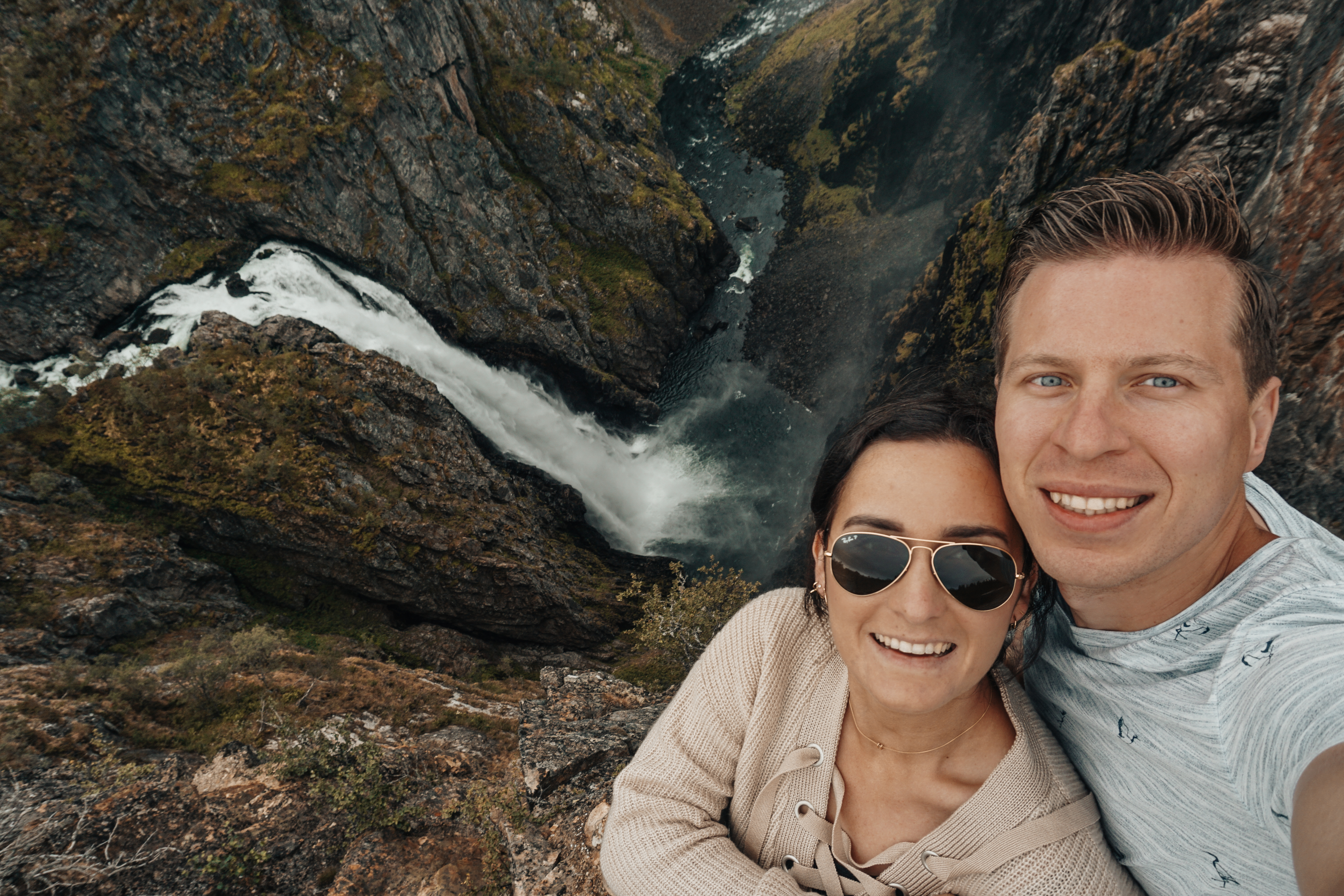 norway waterfall view famous
