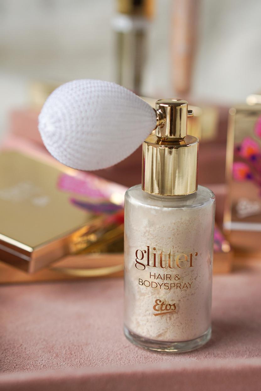 Etos Glitter Body Puff