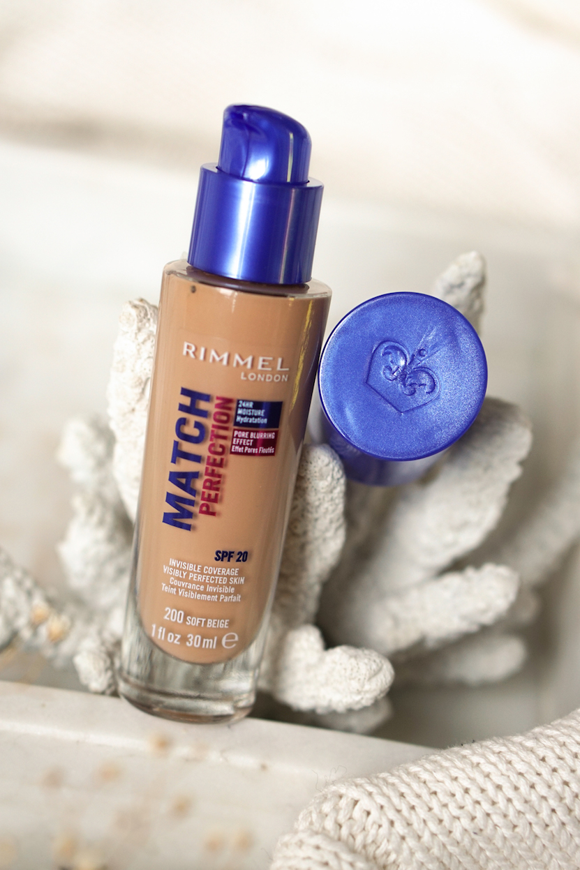 Rimmel Match Perfection foundation, concealer & fix & protect primer