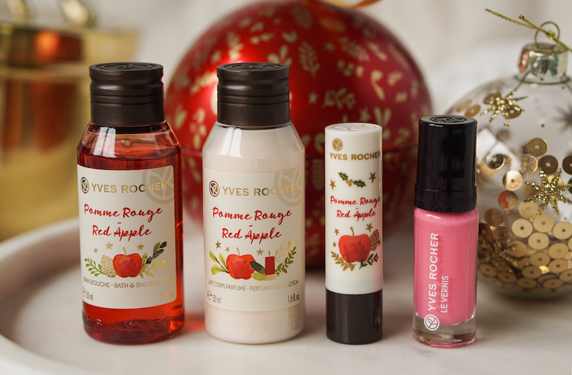 Yves Rocher kerstcollectie red apple & nuit vanille