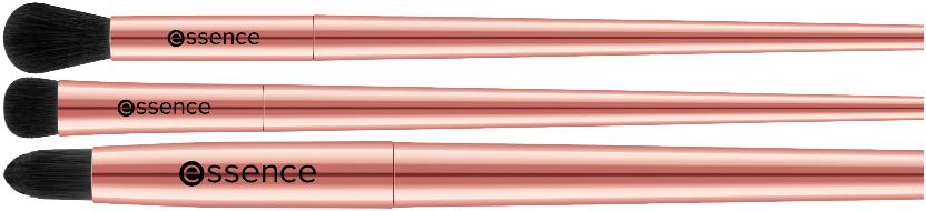 oogschaduw kwasten roze rosegold
