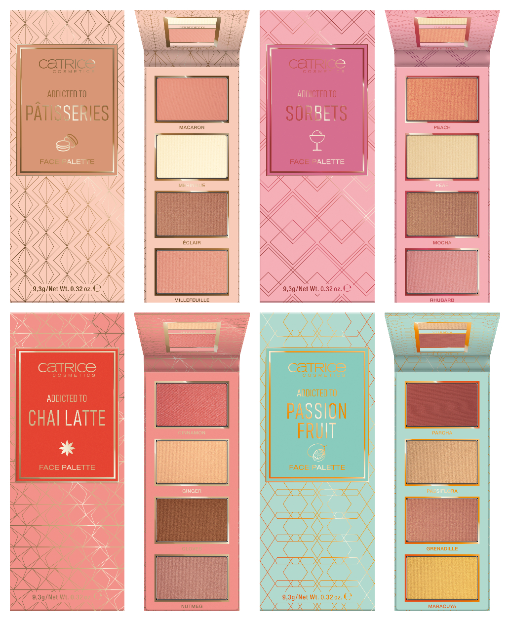 CATRICE face palettes