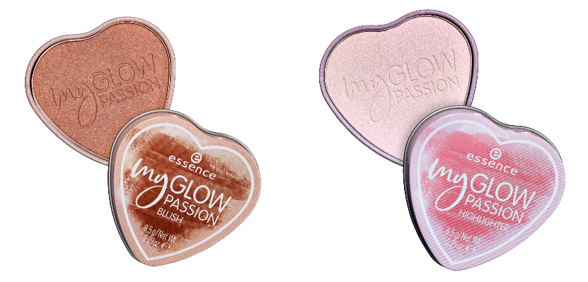 my glow passion blush &my glow passion highlighter