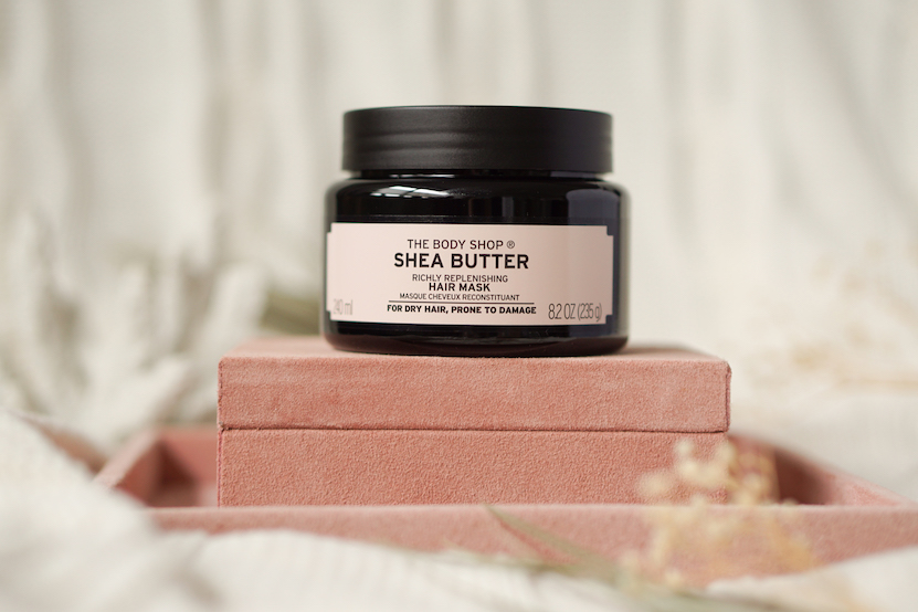 The Body Shop Shea butter, body lotion, shampoo, conditioner & hair mask
