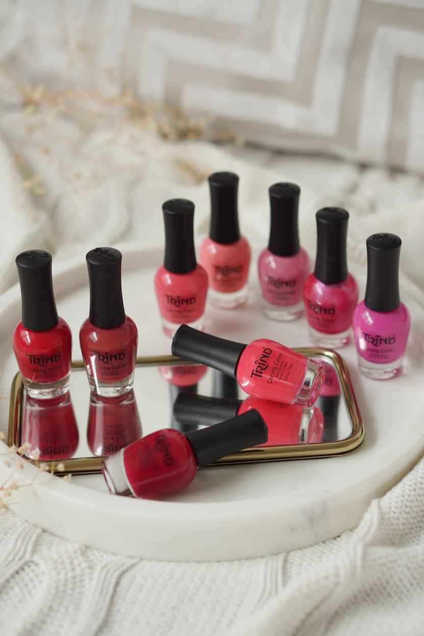 Trind nagellak swatches deel 2, fel roze