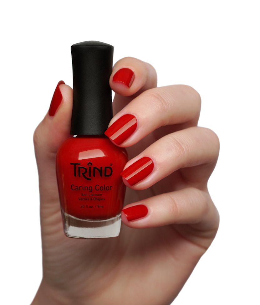 Trind nagellak swatches deel 3, rood & oranje