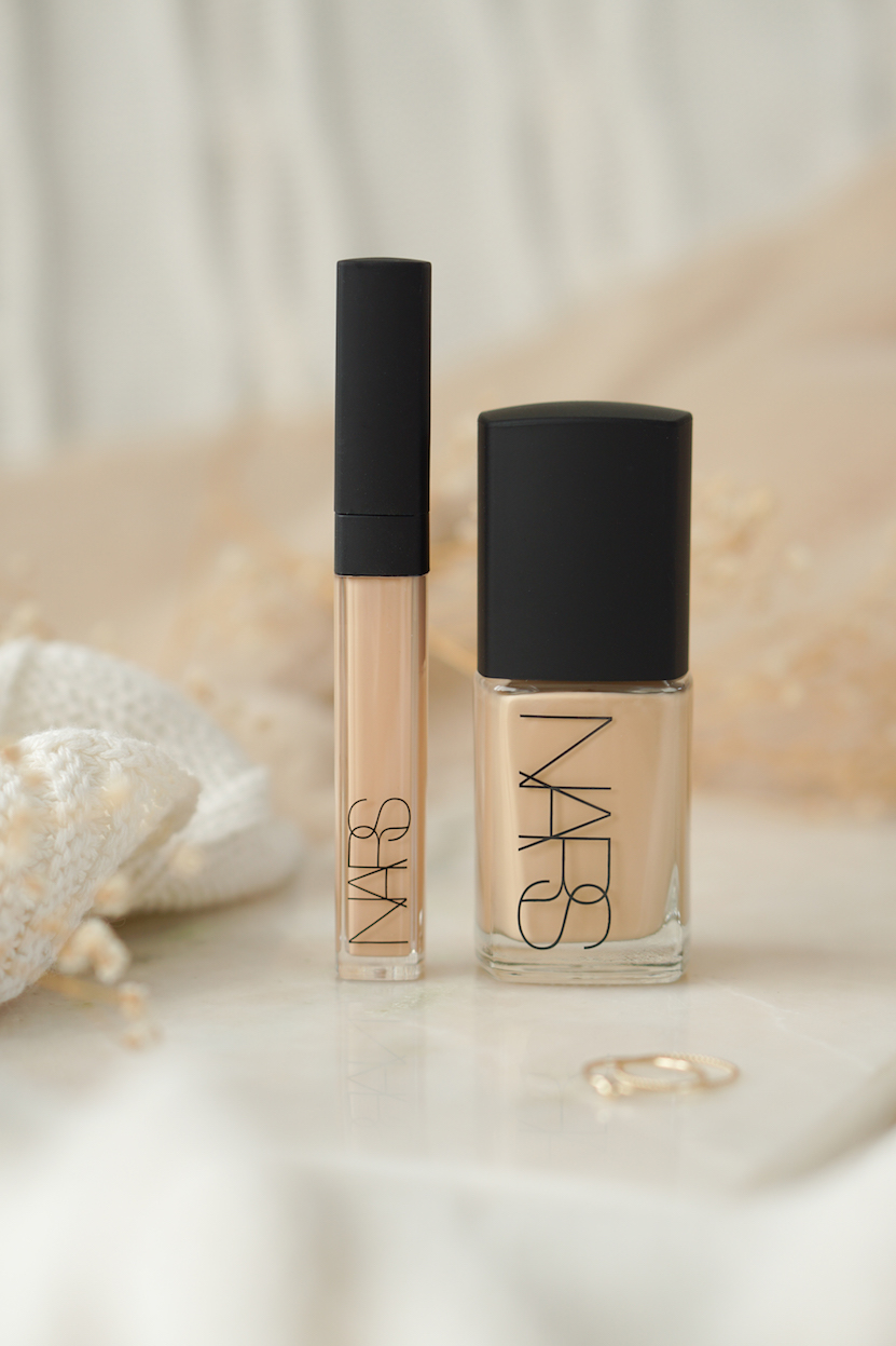 NARS Sheer Glow foundation & Radiant Creamy concealer