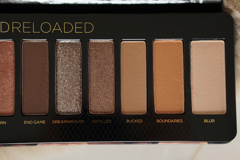 Urban Decay Naked Reloaded Eyeshadow Palette kleuren