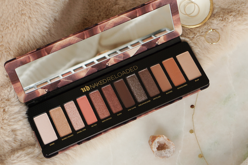 Urban Decay Naked Reloaded Eyeshadow Palette getest