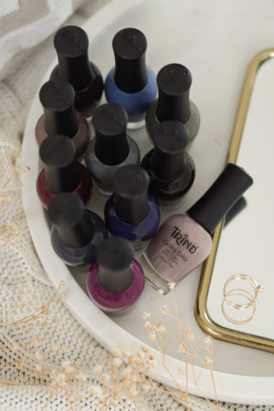 Trind nagellak swatches deel 4, donkere tinten