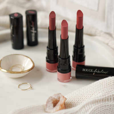 Bourjois Rouge Fabuleux lipstick review