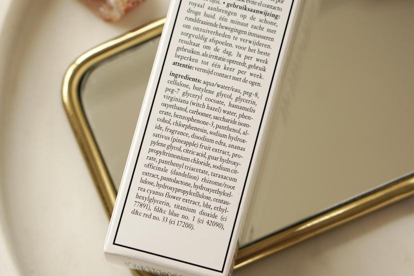 philosophy renewed hope in a jar peeling mousse ingredients