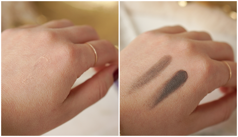 before and after Urban Decay primer potion