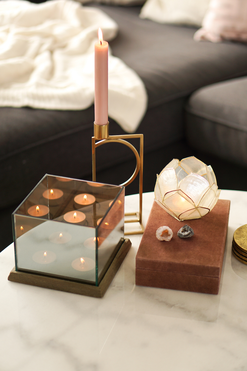 coffee table styling inspiration