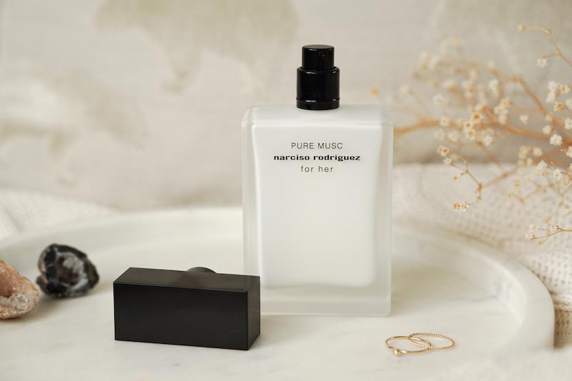 Musc eau de parfum bottle