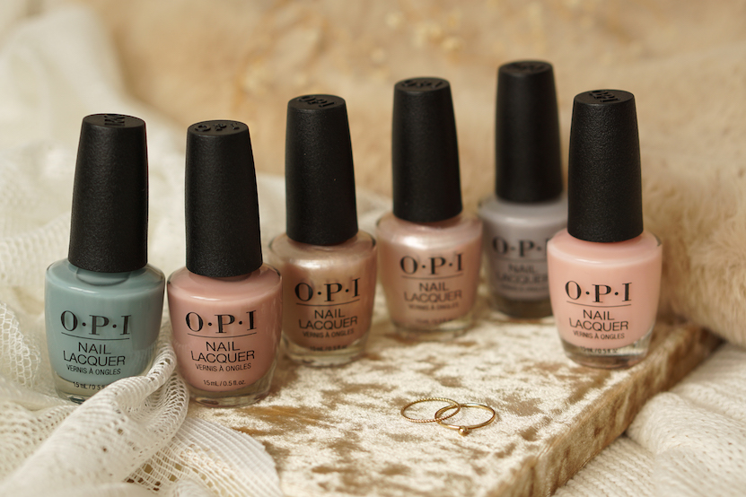 OPI Always Bare for You collection swatches