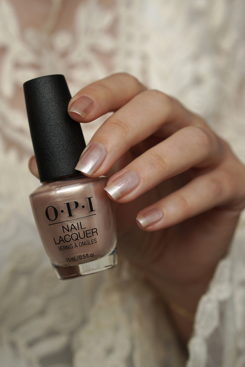 OPI always bare Chiffon-d of You  swatches