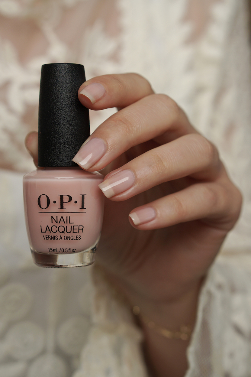 OPI Baby, Take a Vow  swatches