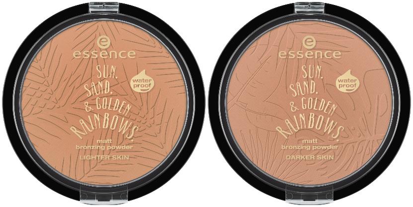 """essence trend edition """"sun. sand. & golden rainbows."""" bronzing powder"""