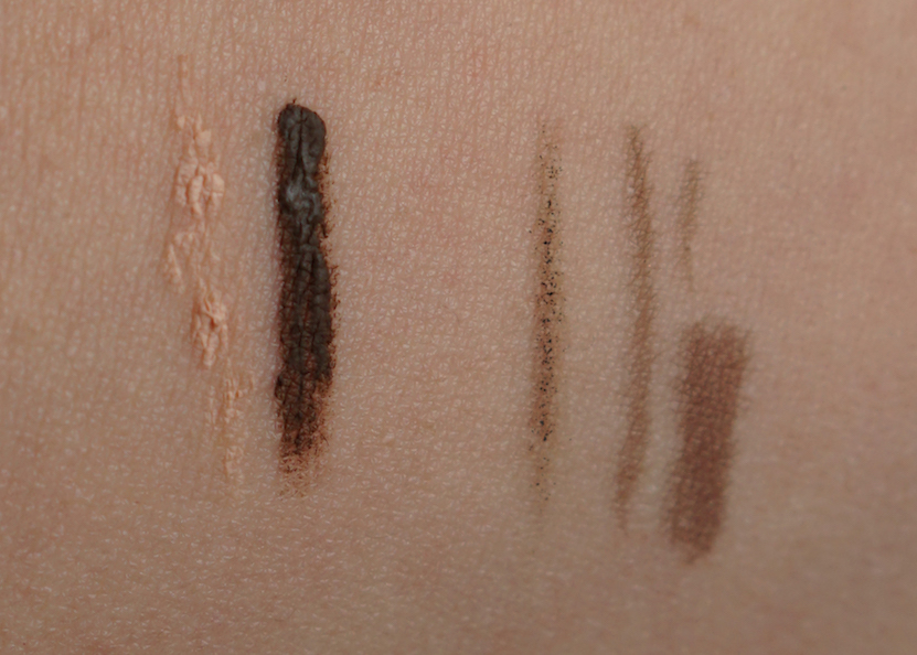 Urban Decay Brow Endowed Brow Blade swatches