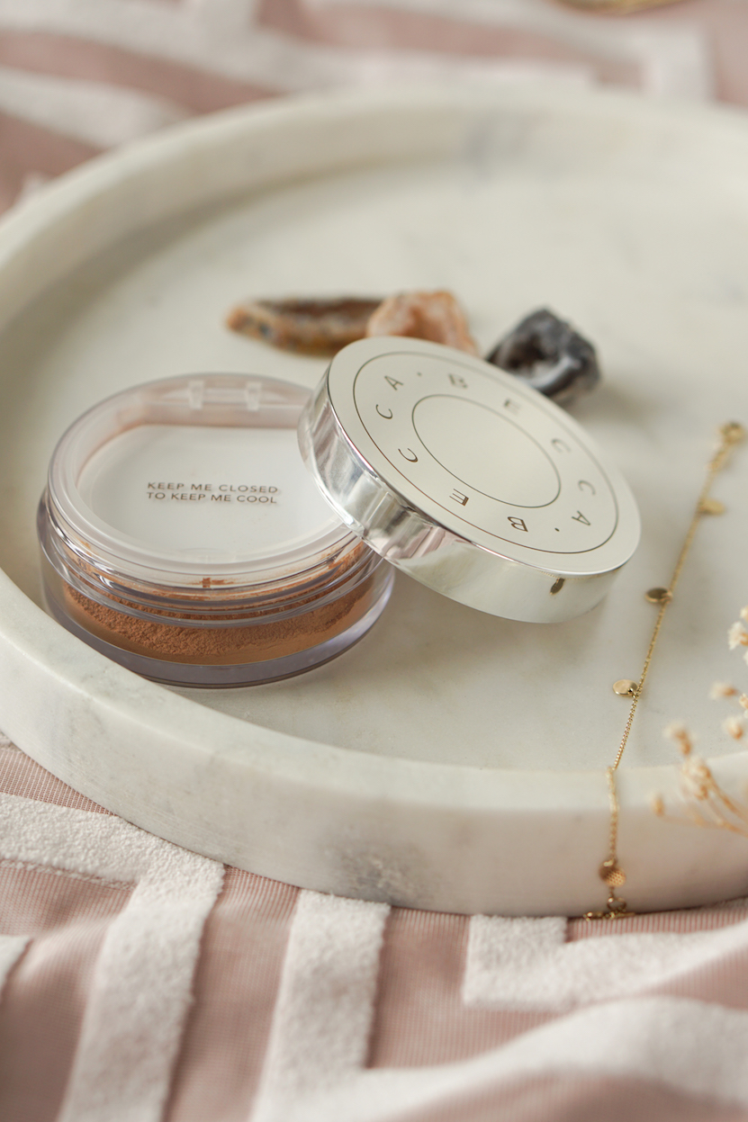 Becca Hydra-Mist Set & Refresh Powder Golden Bronze