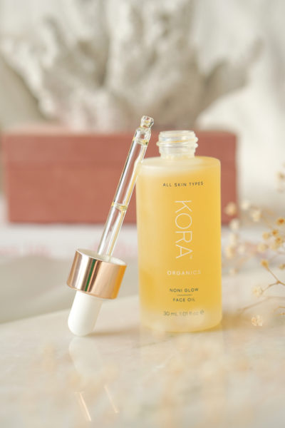 KORA Organics Face Oil + Brightening & Exfoliating Masker