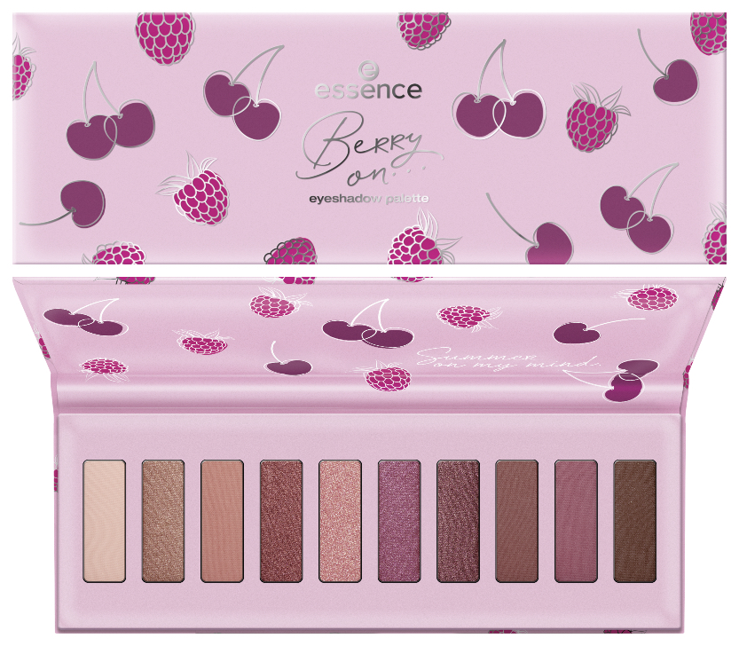 essence berry on... trend edition eyeshadow palette