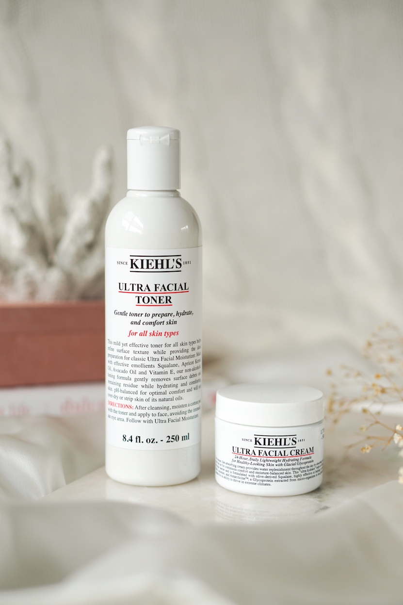 Kiehls Ultra Facial Cream & Toner