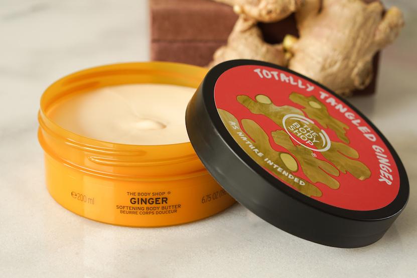 The body shop Ginger Softening Body Butter