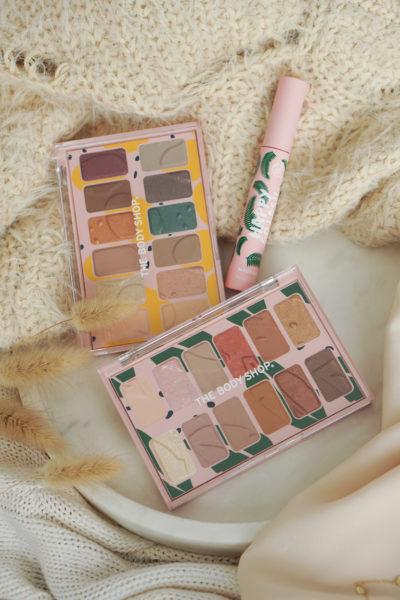 The Body Shop nieuwe oogschaduw paletten & mascara