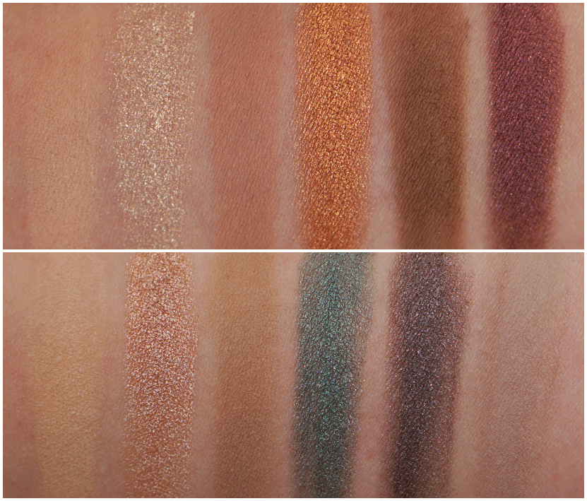 swatches Paint In Colour eyeshadow palette