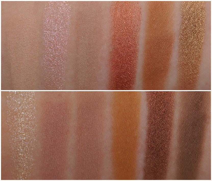Swatches Own Your Naturals eyeshadow palette