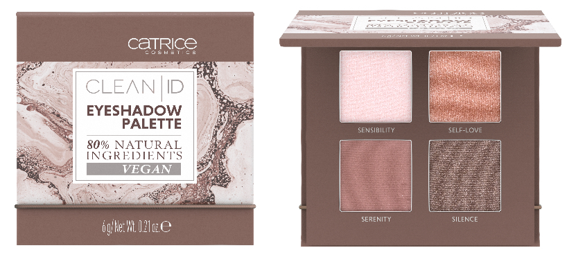 catrice CLEAN ID - EYESHADOW PALETTE