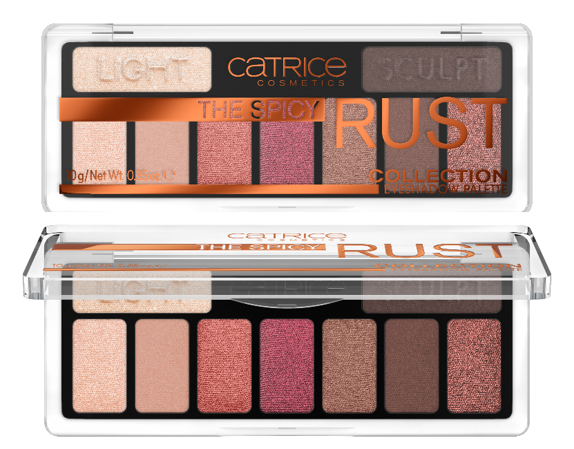 catrice THE SPICY RUST COLLECTION EYESHADOW PALETTE