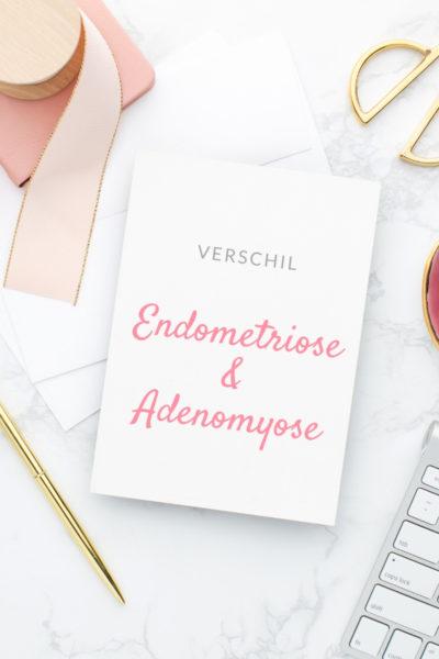 Verschil tussen endometriose en adenomyose