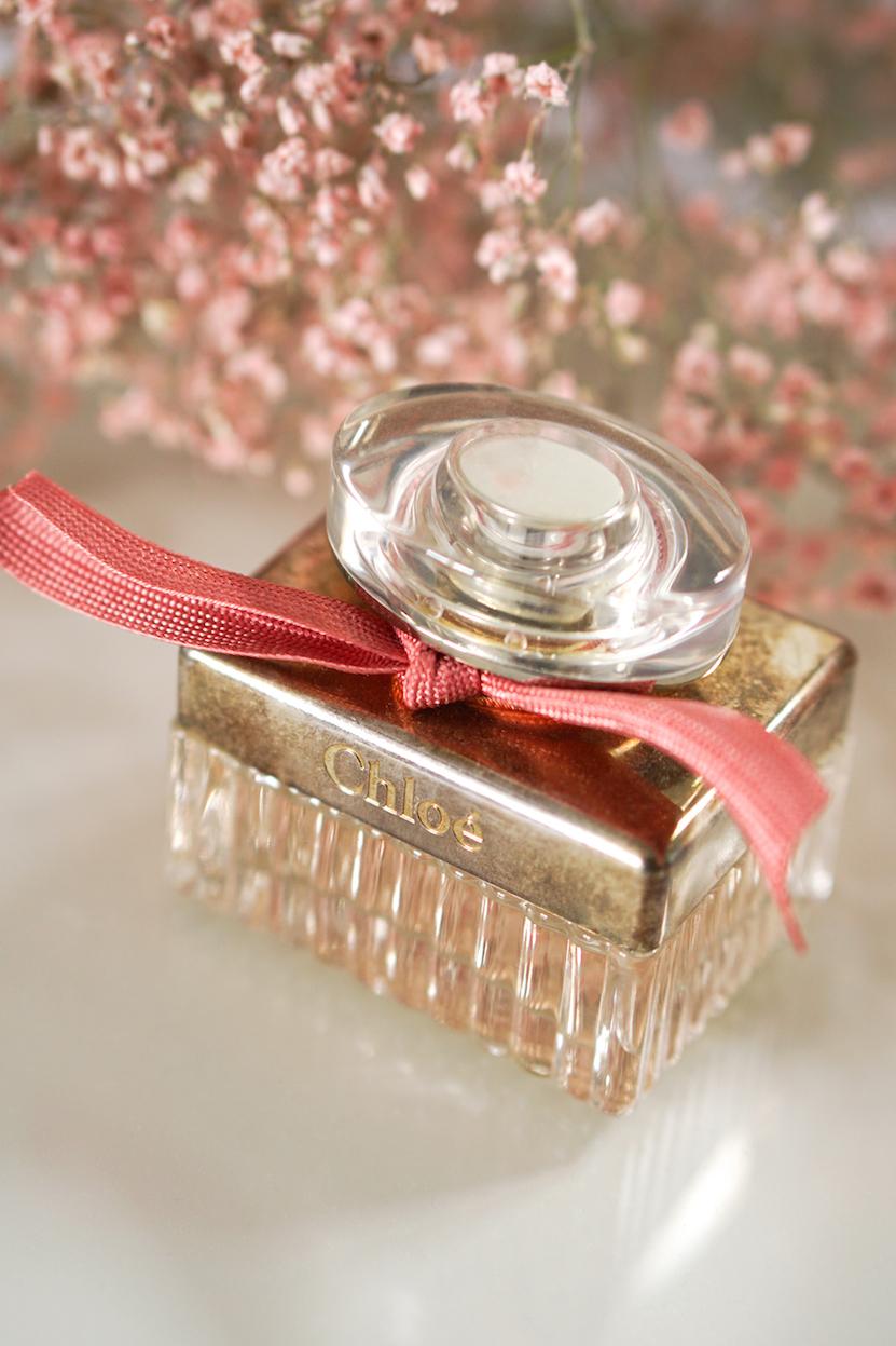 Chloé parfum flesje schoonmaken van oxidatie