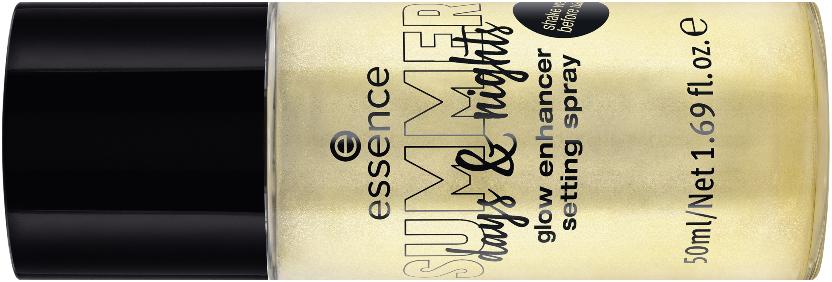 glow enhancer setting spray essence SUMMER days & nights
