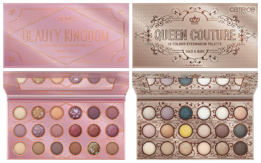 CATRICE Queen Couture & Beauty Kingdom Eyeshadow Palettes