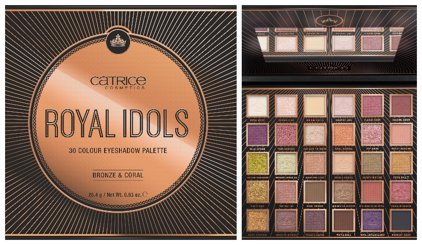 CATRICE Golden Crowns & Royal Idols Eyeshadow Palettes