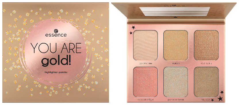 essence contouring & highlighter palettes