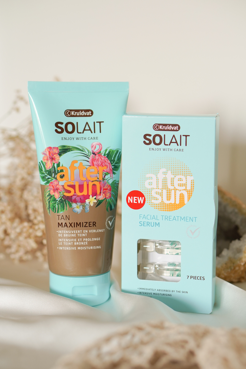 Kruidvat Solait After sun tan maximizer  & Facial Treatment Ampullen
