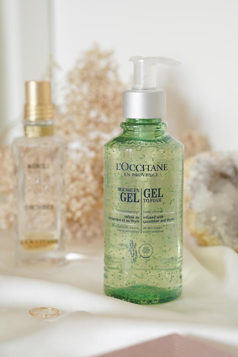 LOccitane Gel to foam & Cleansing Milk