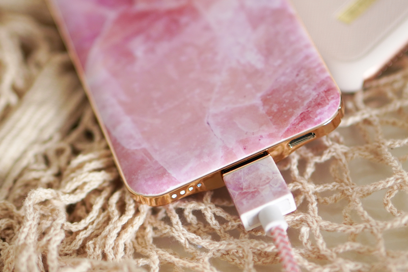 Pilion Pink Marble fashion cable