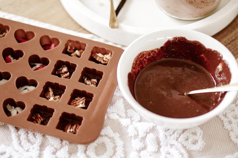 zelf chocolade maken
