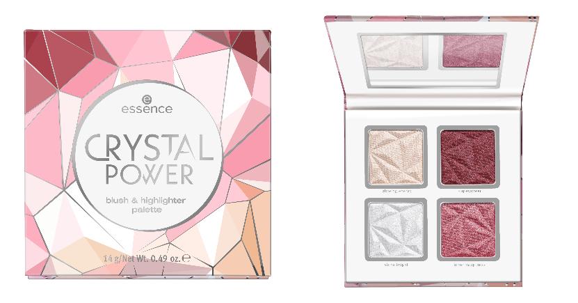 crystal power blush & highlighter palette essence
